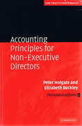Cover of Accounting Principles for Non-Executive Directors