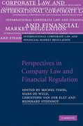 Cover of Perspectives in Company Law and Financial Regulation