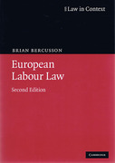 Cover of Law in Context: European Labour Law