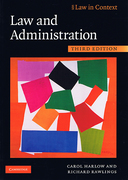 Cover of Law in Context: Law and Administration