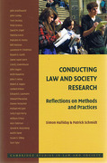 Cover of Conducting Law and Society Research: Reflections on Methods and Practices