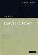 Cover of Law in Context: Law, Text, Terror