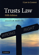 Cover of Law in Context: Trusts Law: Text and Materials