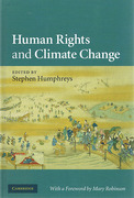 Cover of Human Rights and Climate Change