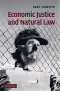 Cover of Economic Justice and Natural Law