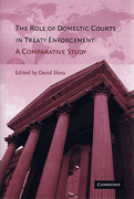 Cover of Role of Domestic Courts in Treaty Enforcement: A Comparative Study