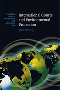 Cover of International Courts and Environmental Protection