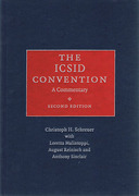 Cover of The ICSID Convention: A Commentary
