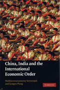 Cover of China, India and the International Economic Order
