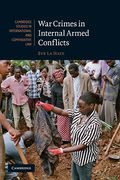 Cover of War Crimes in Internal Armed Conflicts