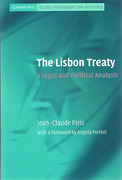 Cover of Lisbon Treaty: A Legal and Political Analysis