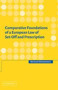 Cover of Comparative Foundations of a European Law of Set-off and Prescription