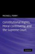 Cover of Constitutional Rights, Moral Controversy, and the Supreme Court