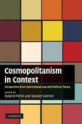 Cover of Cosmopolitanism in Context: Perspectives from International Law and Political Theory