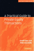 Cover of A Practical Guide to Private Equity Transactions