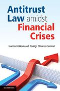 Cover of Antitrust Law Amidst Financial Crises