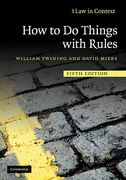 Cover of Law in Context: How to Do Things with Rules