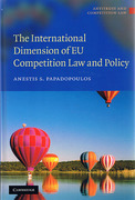 Cover of The International Dimension of EU Competition Law and Policy