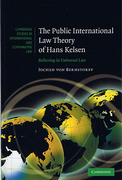 Cover of Public International Law Theory of Hans Kelsen: Believing in Universal Law