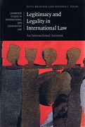 Cover of Legitimacy and Legality in International Law: An Interactional Account