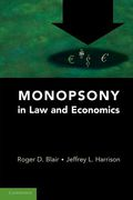Cover of Monopsony in Law and Economics