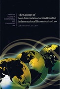 Cover of Concept of Non-International Armed Conflict in International Humanitarian Law
