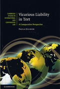 Cover of Vicarious Liability in Tort: A Comparative Perspective