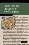 Cover of Canon Law and the Letters of Ivo of Chartres