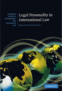 Cover of Legal Personality in International Law