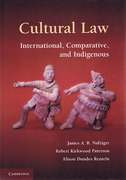 Cover of Cultural Law: International, Comparative, and Indigenous