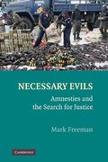 Cover of Necessary Evils: Amnesties and the Search for Justice