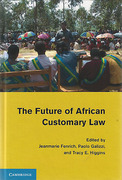 Cover of The Future of African Customary Law