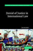 Cover of Denial of Justice in International Law