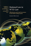 Cover of National Law in WTO Law: Effectiveness and Good Governance in the World Trading System