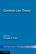 Cover of Common Law Theory