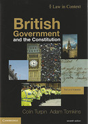 Cover of British Government and the Constitution: Text and Materials