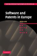 Cover of Software and Patents in Europe