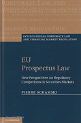 Cover of EU Prospectus Law: New Perspectives on Regulatory Competition in Securities Markets