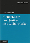 Cover of Gender, Law and Justice in a Global Market