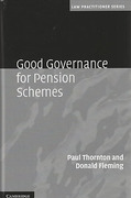 Cover of Good Governance for Pension Schemes