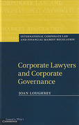 Cover of Corporate Lawyers and Corporate Governance