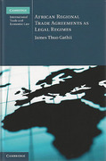 Cover of African Regional Trade Agreements as Legal Regimes