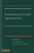 Cover of Preferential Trade Agreements: Law, Policy, and Economics