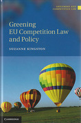 Cover of Greening EU Competition Law and Policy