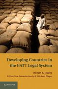 Cover of Developing Countries in the GATT Legal System