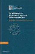 Cover of The WTO Regime on Government Procurement: Challenge and Reform
