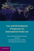 Cover of Law and Development Perspective on International Trade Law
