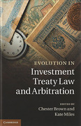 Cover of Evolution in Investment Treaty Law and Arbitration