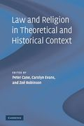 Cover of Law and Religion in Theoretical and Historical Context