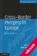 Cover of Cross-Border Mergers in Europe: Volume 2 (eBook)